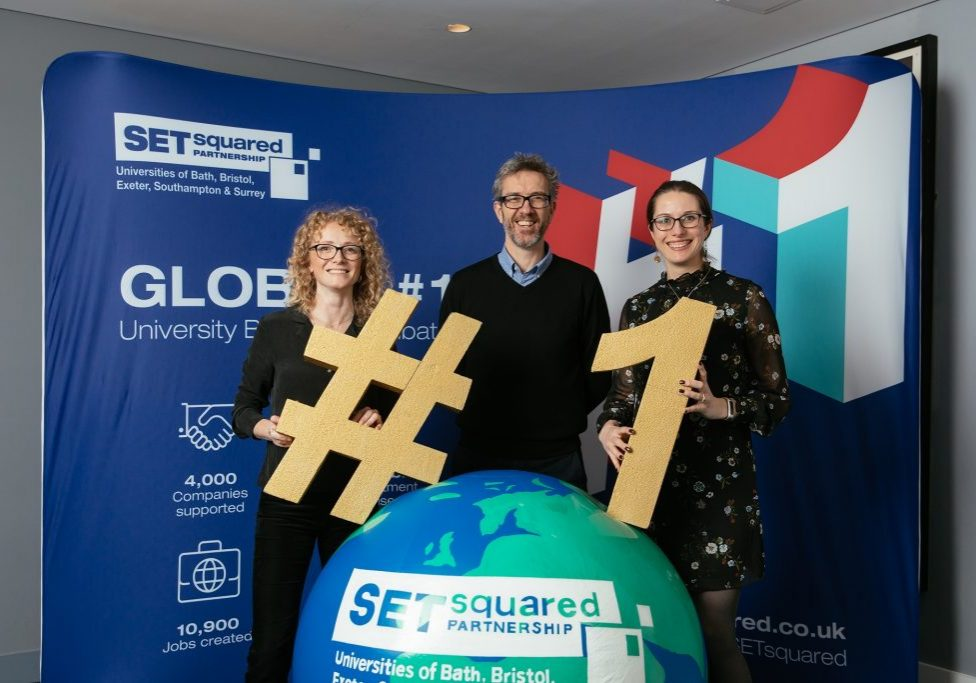 Monika, Steve and Lisa at Global no1 celebration 2019
