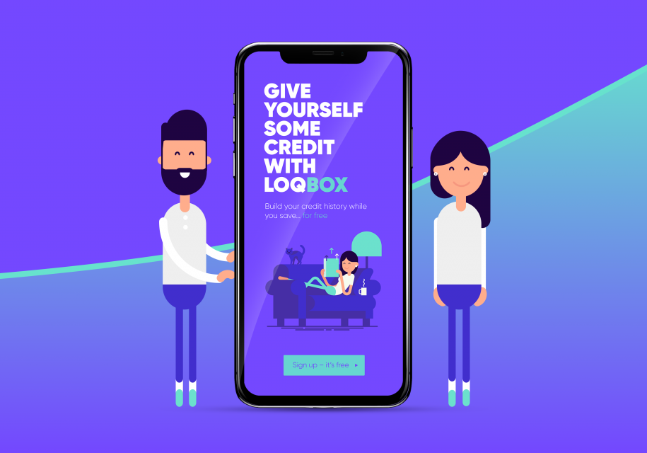 Graphic - Give yourself some credit with loqbox