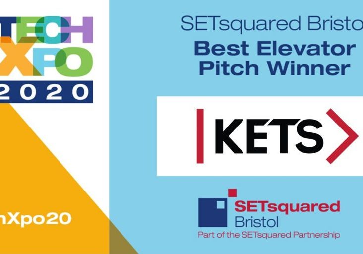 SETsquared Tech-Xpo Best Elevator Pitch winner - KETS