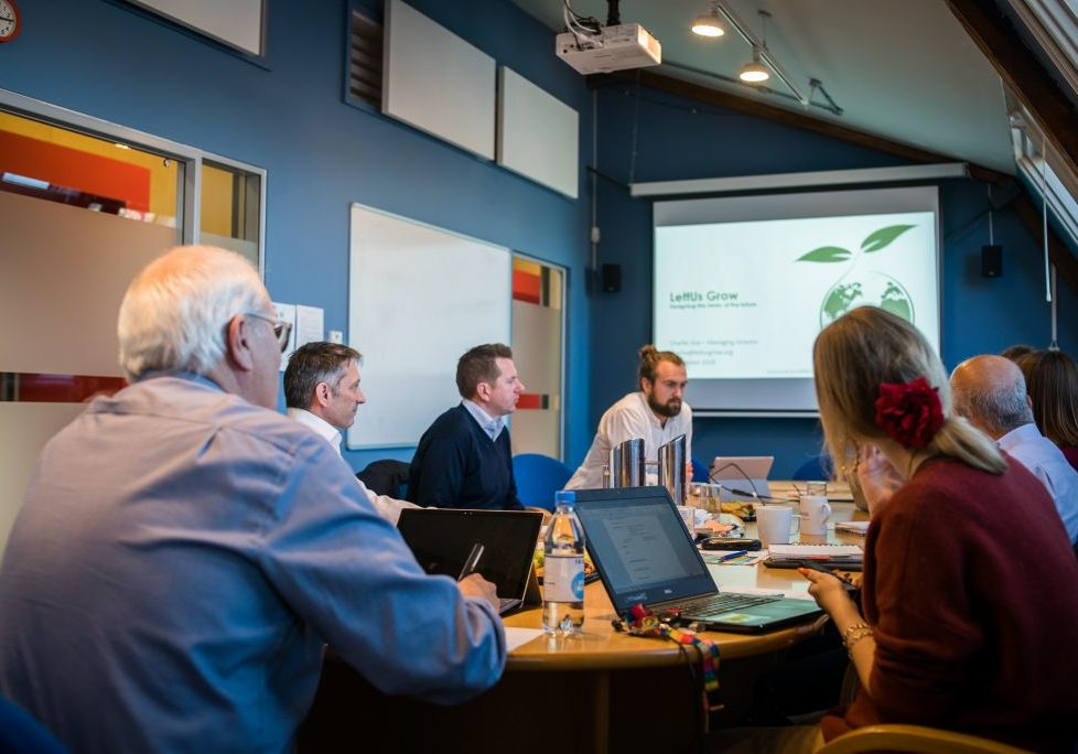 LettUs Grow business review panel at SETsquared Bristol