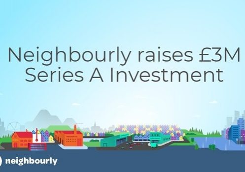 Graphic - Neighbourly raises £3M series A investment