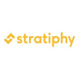 Stratiphy logo - yellow