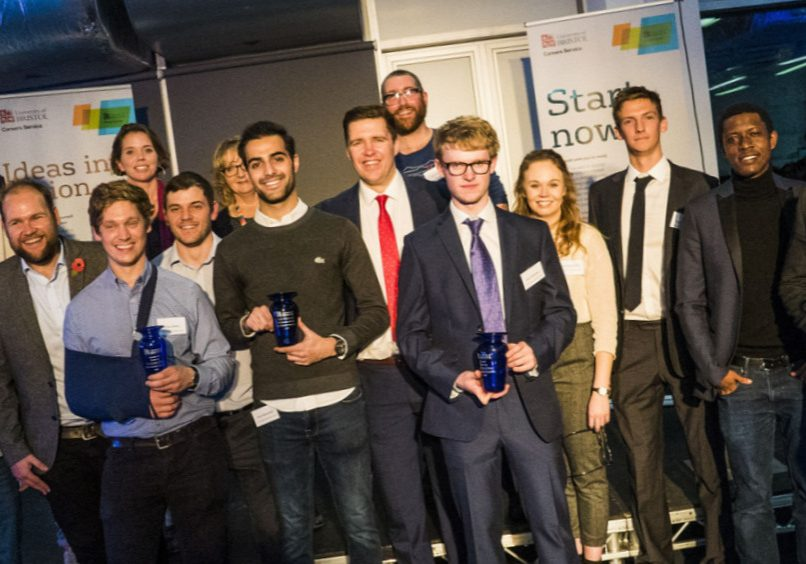 New Enterprise Competition Winners and Judges 2018